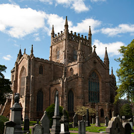 Dunfermline Abbey by Dwayne Mathers - Buildings & Architecture Public & Historical ( fife, church, dunfermline, abbey )