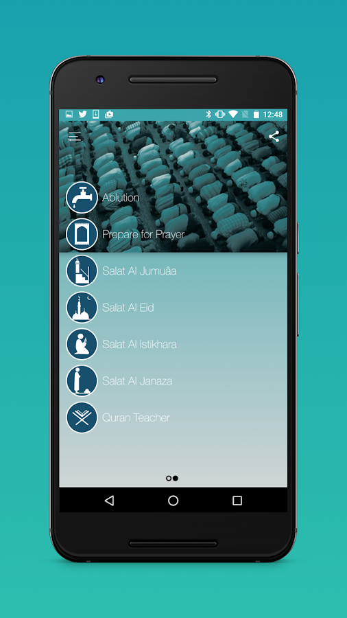 Salah Learning : Muslim Prayer Screenshot 1