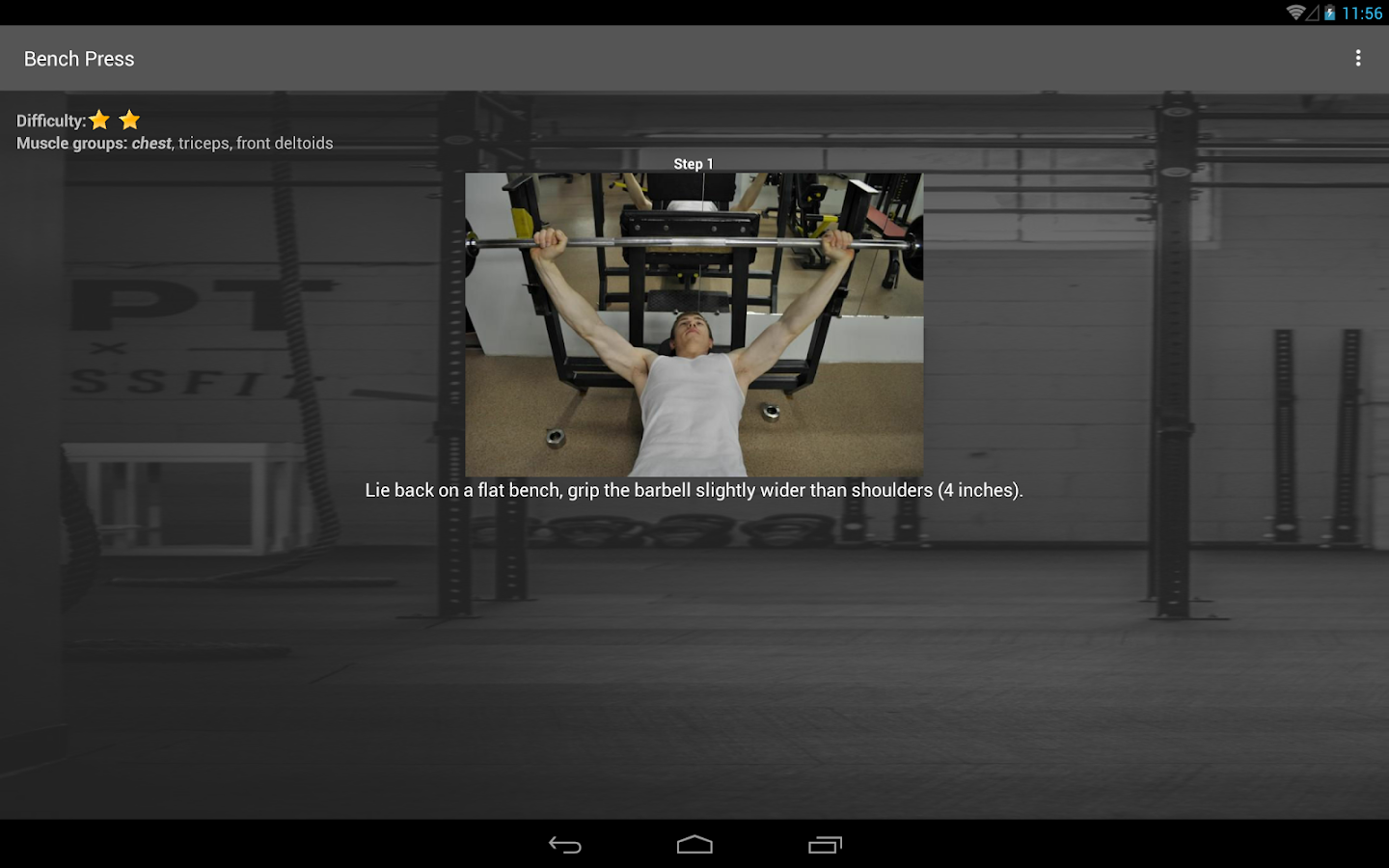WinGym Exercises Premium Screenshot 7