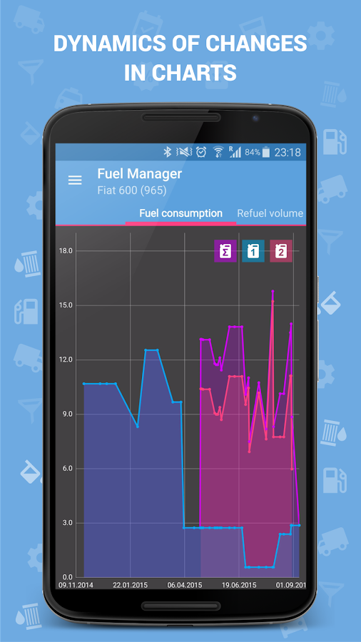 Fuel Manager (Consumption) Screenshot 3