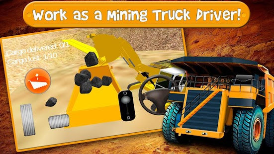 Game Mining Truck Driver Simulator APK for Windows Phone
