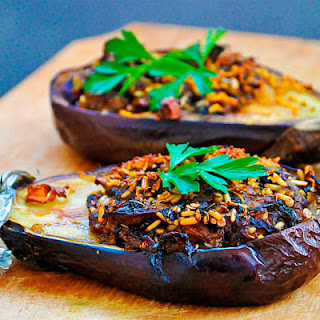 Sauteed Eggplant With Tomato Garlic Sauce Recipes