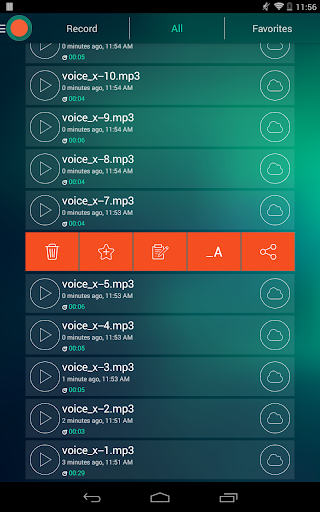 Voice Recorder - Dictaphone screenshot 19
