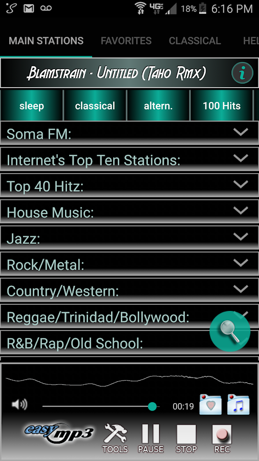 Internet Radio Recorder Pro Screenshot 0