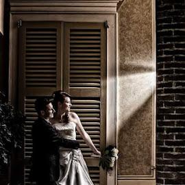 Fabio e Alessia by Mauro Locatelli - Wedding Bride & Groom