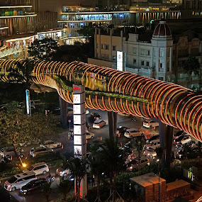 Neo Soho Skywalk by Mulawardi Sutanto - Buildings & Architecture Bridges & Suspended Structures ( neo soho, indonesia, jakarta, travel, mall )