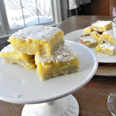 Earl Grey Lemon Shortbread Bars
