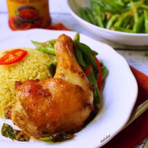 Lemongrass Turmeric Chicken with Fragrant Rice