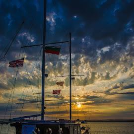 by Georgi Tsachev - Transportation Boats ( water, black sea )