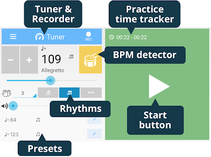 App Tuner & Metronome APK for Kindle