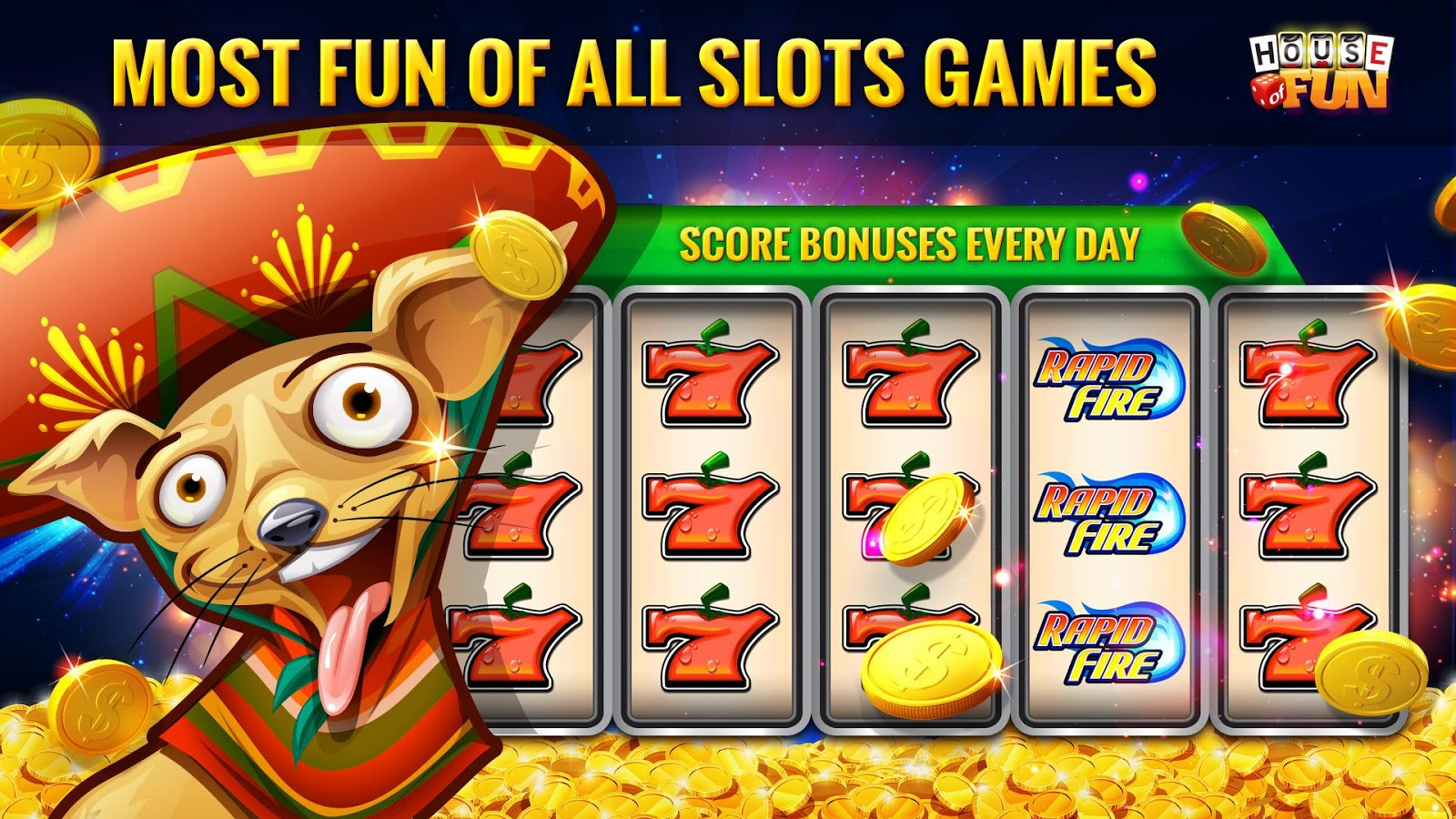 House of Fun-Free Casino Slots Screenshot 9