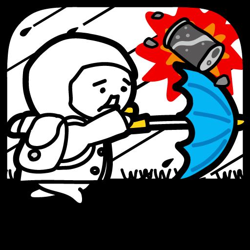 台風コロッケ J( 'ー`)し「配達おねがいね」 (game)