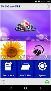 MediaShare Wireless Mini - screenshot