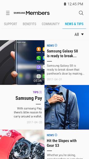 Samsung Members screenshot 2