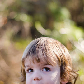 Curiosity  by Abbie Pickett - Babies & Children Child Portraits ( child, outdoor, nikon, portrait )