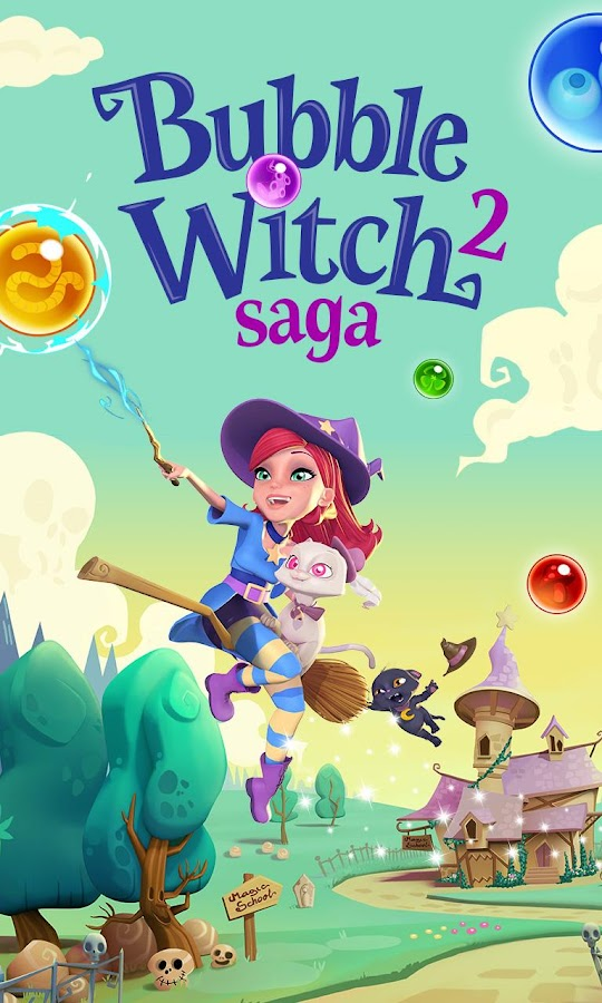 Bubble Witch 2 Saga Screenshot 4