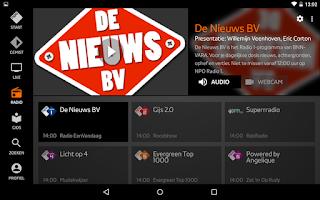 Screenshot of NPO