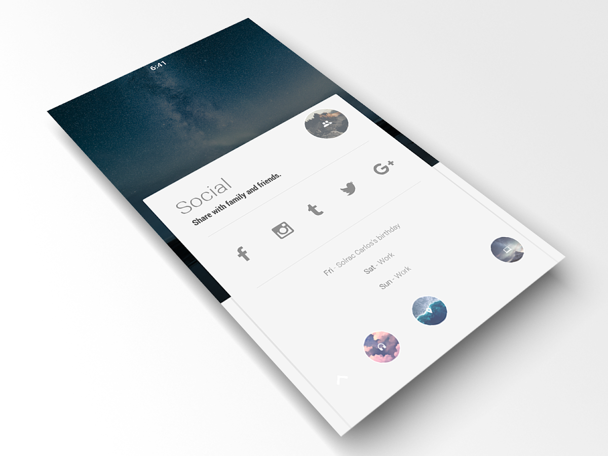 Autonomous for KLWP Screenshot 3