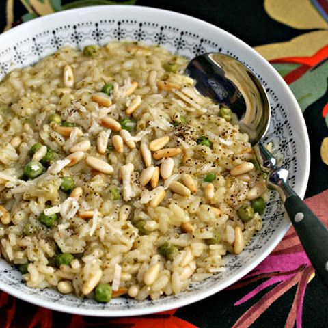 Risotto With Pesto And Peas Recipes | Yummly