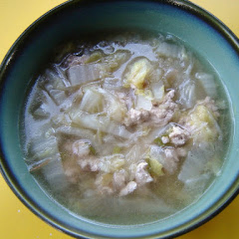Pork and Chinese Cabbage Soup