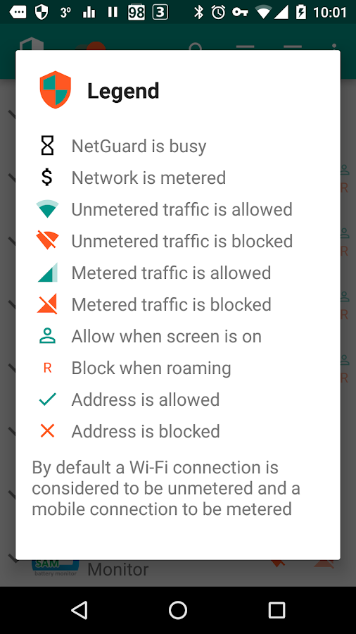 NetGuard - no-root firewall Screenshot 3