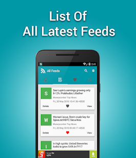 Smart RSS Reader - screenshot
