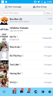 Mini FB Messenger - screenshot