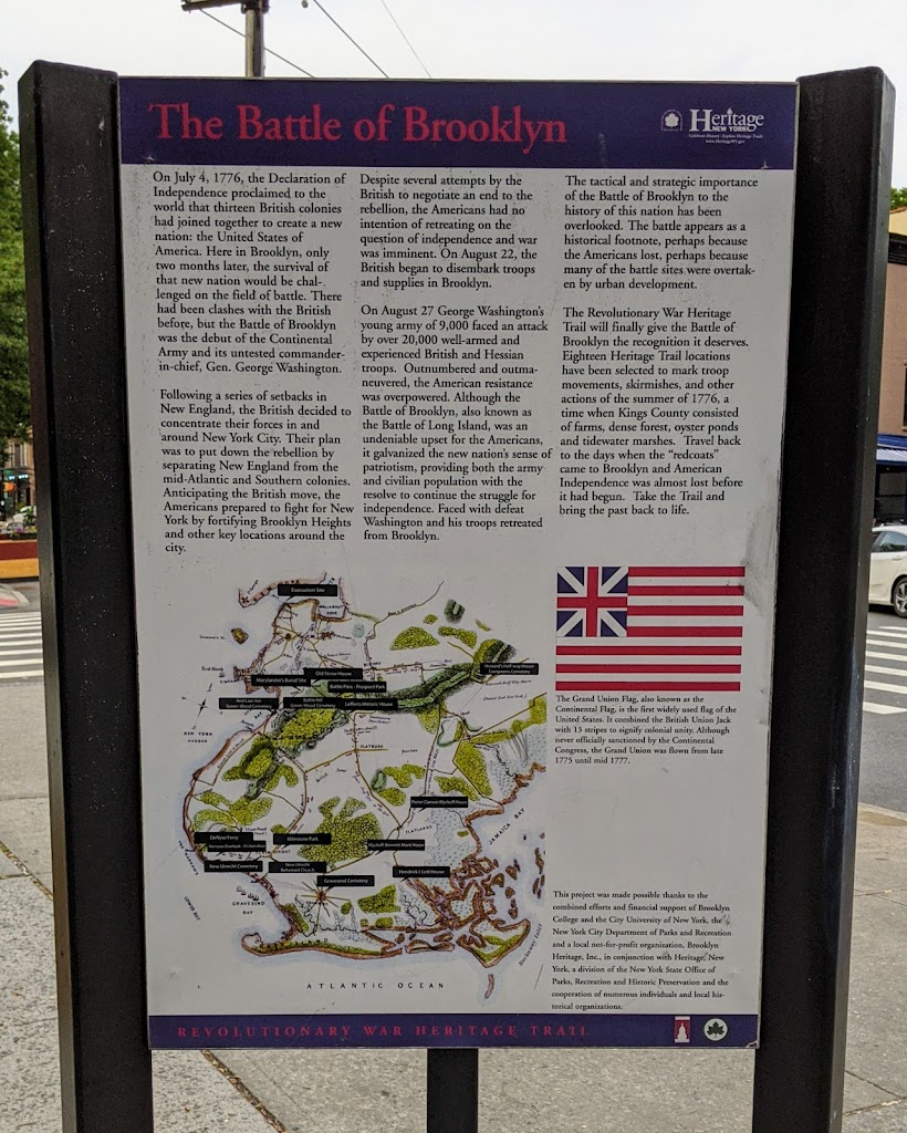 On July 4, 1776, the Declaration of Independence proclaimed to the world that thirteen British colonies had joined together to create a new nation: the United States of America. Here in Brooklyn, ...