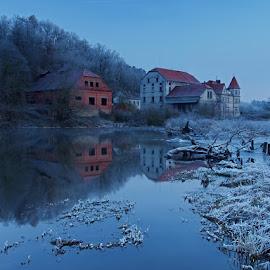 Berounka river by Robert Benčík - Landscapes Waterscapes