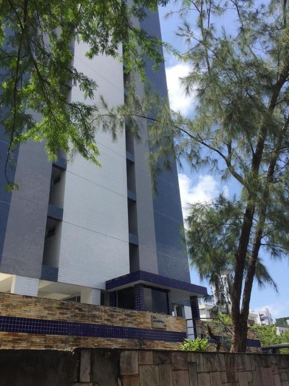 Apartamento com 3 dormitórios para alugar, 80 m² por R$ 859/mês - Tambaú - João Pessoa/PB