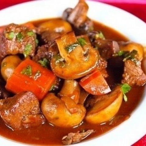 Roast Beef With Mushrooms