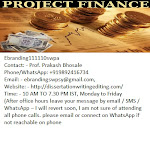 The Professional Project Finance Funding Consultation Services in Ahmedabad