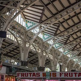 by Vicente Marzal Senior - City,  Street & Park  Markets & Shops