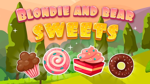 Blondie and Bear sweets