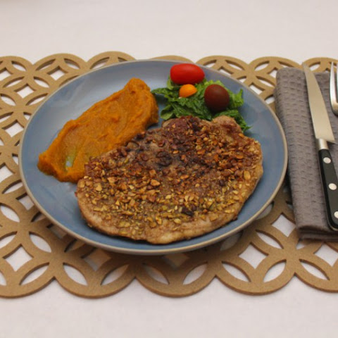 Pumpking Seed (Pepita) Crusted Pork Steak