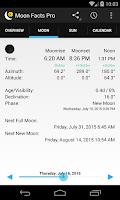 Screenshot of Moon Facts
