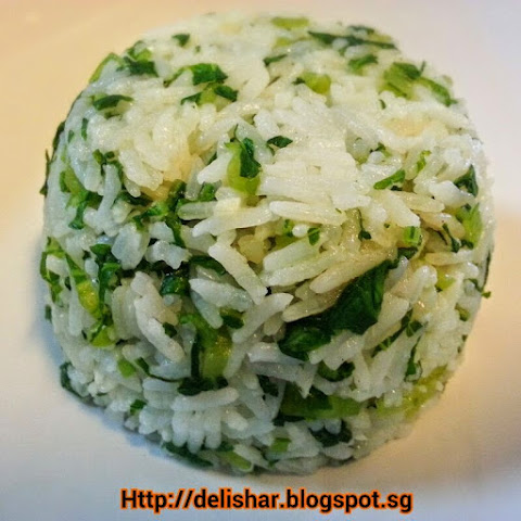 Shanghai Vegetable Rice (菜饭)