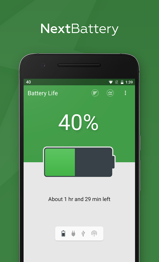 Next Battery Screenshot