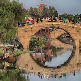 Qibao Watertown by Francisco  Little - Buildings & Architecture Bridges & Suspended Structures ( watertown, bridge, shanghai, china )