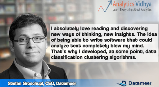 In Conversation with Mr. Stefan Groschupf, Founder and CEO, Datameer