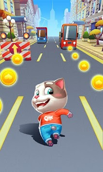 Cat Rush - Subway & Bus Run APK screenshot thumbnail 1