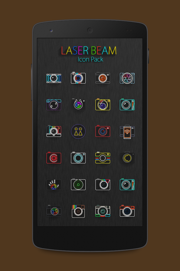 Laser Beam Icon Pack Screenshot 4