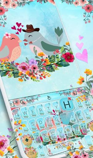 Love Birds Keyboard Theme screenshot 3