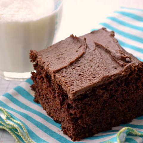Chocolate Barley Snack Cake