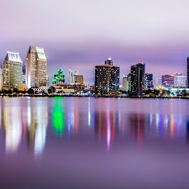San Diego by Scott Padgett - City,  Street & Park  Skylines
