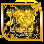 Golden Rose Keyboard Theme Icon