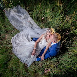 Alone by Lodewyk W Goosen (LWG Photo) - Wedding Bride & Groom ( kissing, marriage photography, wedding photographers, lood goosen, brides, loving, husband, marriage, love, perfection, married, sitting, wife, wedding, weddings, wedding day, couple, bride and groom, wedding photographer, bride, groom, bride groom )