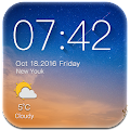 Download Simple Clock & Weather APK on PC