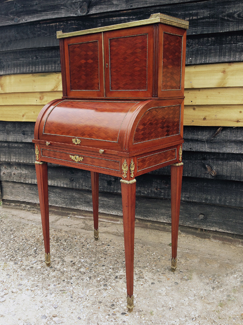 Restoration of a 19th Century French Bureau de Dame by L. A. Polishers