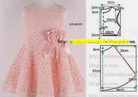 Как сшить платье на девочку на 1 год 56